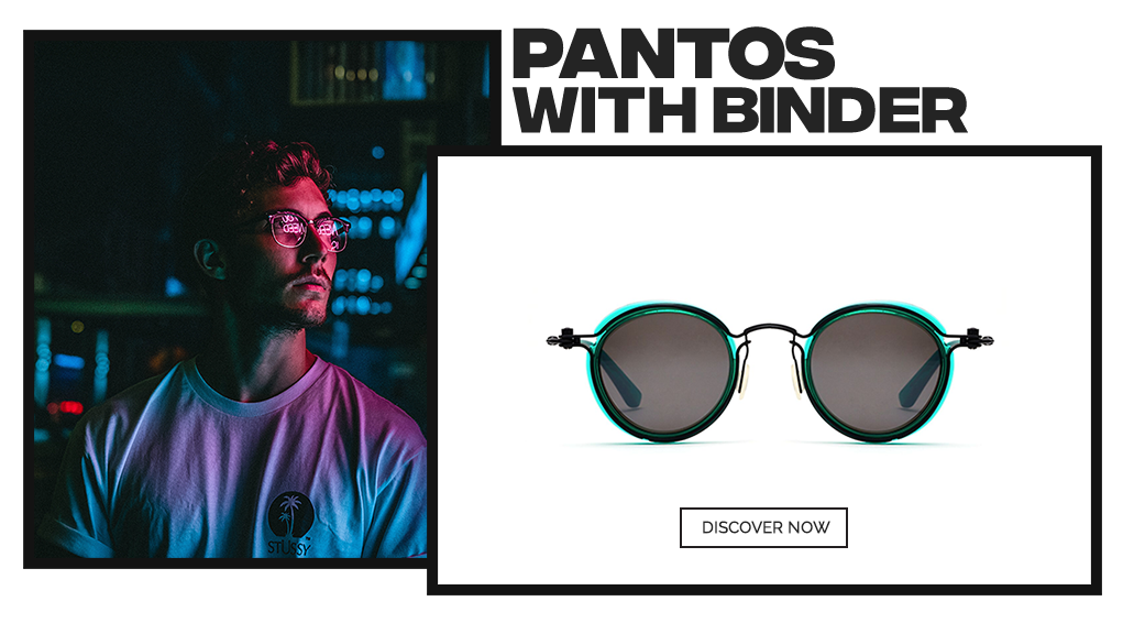 Sunglasses Pantos with binder